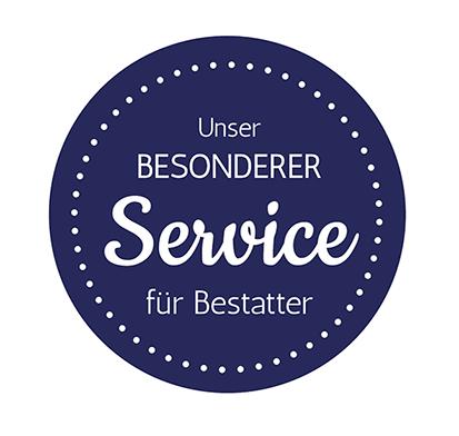 Besonderer Service