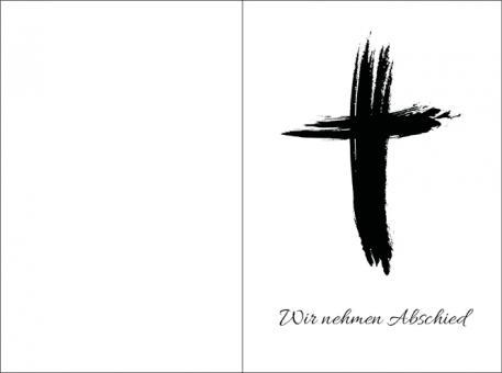 2010 Sterbebild Kreuz künstlerisch